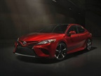 Photo of the overseas 2018 Toyota Camry courtesy of Toyota.