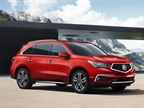 Photo of 2018 MDX courtesy of Acura.