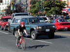 <p><em><strong>A total of 24 states now have a three-foot passing law on the books, in hopes of preventing vehicle-bicycle collisions. Photo courtesy of AAA Foundation for Traffic Safety.</strong></em></p>
