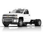 Photo of 2016 Chevrolet Silverado 3500HD chassis cab courtesy of GM.