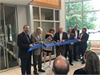Mindy Holman, chairman of the board for ARI, officially cuts the Ribbon on ARI's Technology & Innovation Center. (PHOTO: ARI)