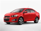 Photo of Chevrolet Sonic courtesy of GM.