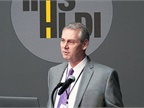 David Harkey speaks at an IIHS event in August. Photo courtesy of