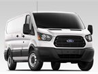 Photo of low-roof, regular wheelbase 2015 Transit courtesy of Ford.