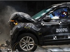<p>Computer simulations precede physical crash tests such as this one. Ford's Dearborn facility has performed more than 20,000 physical crash tests since 1954. Photo courtesy of Ford Motor Co.</p>