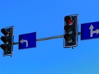 Photo of an intersection stoplight courtesy of Pixabay.