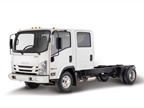 Photo of Isuzu NPR courtesy of Isuzu Commercial Truck of America.