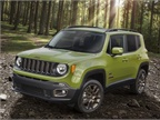 Photo of Jeep Renegade courtesy of FCA US.