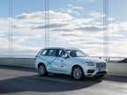 <p><em>One of Volvo's XC90 Drive Me research cars on the autonomous drive route in Gothenburg, Sweden. Photo courtesy of Volvo Cars.</em></p>