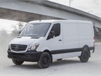 Photo of the 2016 Sprinter Worker courtesy of Mercedes-Benz.