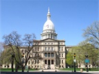 Photo of Michigan Capitol Building courtesy of Michigan Senate.