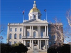 Photo of New Hampshire State House by Alexius Haratius via Wikimedia Commons.