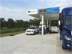 Since opening this CNG fueling station in Anderson, S.C., last year, Piedmont has reduced the price of its fuel to $1.37 per GGE. Photo courtesy of Piedmont Natural Gas