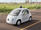 Prototype of self-driving vehicle, photo courtesy of Google.