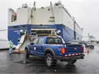 This shipping of the 2017 Ford F-150 Raptor marks the first time any U.S.-built F-Series truck has been officially exported to China (Photo courtesy of Ford Motor Co.)