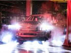 <p>Nissan officially launched the production of the full-size TITAN XD pickup truck November 19. (PHOTO: Nissan)</p>
