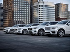 Photo of Volvo Cars current plug-in hybrid lineup courtesy of Volvo.