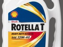 New Bottle for Shell ROTELLA T with Triple Protection