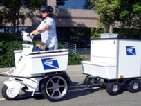 USPS to Cut Fuel Costs with Electric Stand-Up Vehicles