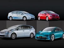 Toyota Introduces New Prius Models at 2011 NAIAS