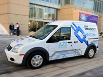 Ford & Azure Dynamics Mark Production and Delivery of First Transit Connect Electrics