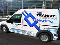 AT&T Lead Customer for Ford Transit Connect Electric