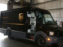 UPS Testing Composite Delivery Trucks