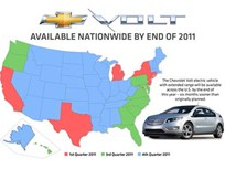 Chevrolet Volt Available Across U.S. by End of 2011