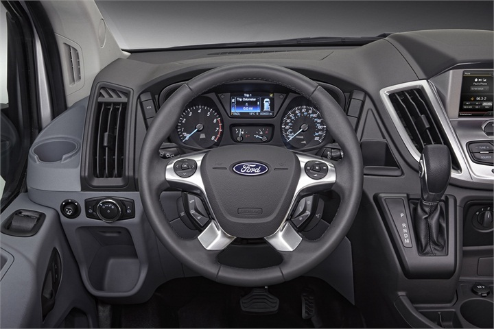 Navigation Is Optional On The Transit 2015 Ford Transit