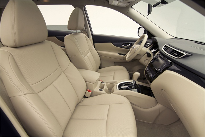 Nissan Offers Two Interior Colors Almond And Charcoal