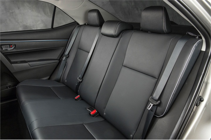 The 2014 Le Eco Model S Back Seats Softex Material For