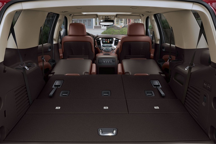 Go Green Leasing >> The Tahoe (pictured) and Suburban have fold-flat second ...