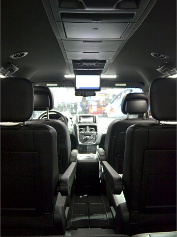 For MY-2013, the Grand Caravan features the Blu-Ray DVD player with - 2012 L.A. Auto Show ...