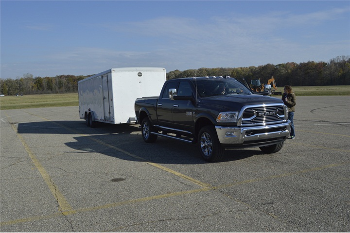 a 2016 ram 2500 limited crew cab 4x4 towing a 12 300 pound. Black Bedroom Furniture Sets. Home Design Ideas