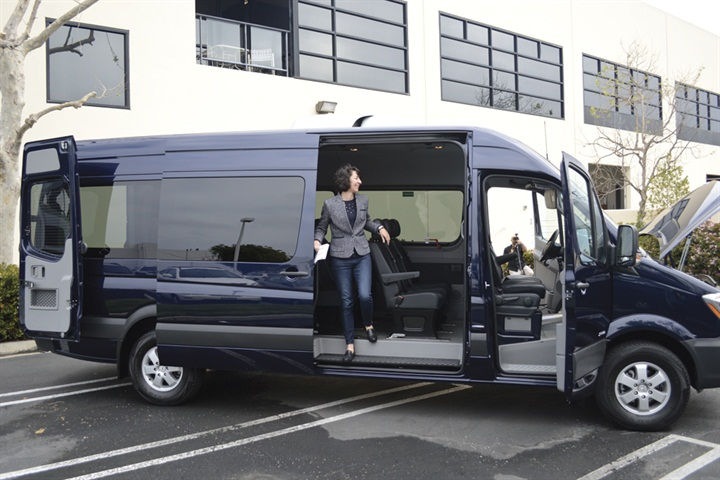 With The High Roof This Passenger Model Has A Maximum
