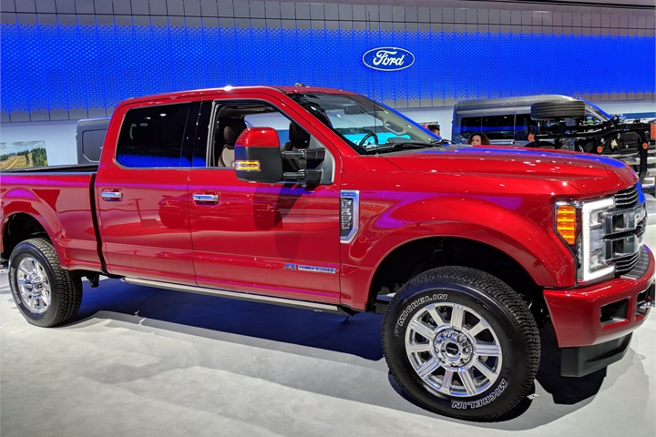 2018 Ford F-250 Super Duty Limited - 2017 L.A. Auto Show ...