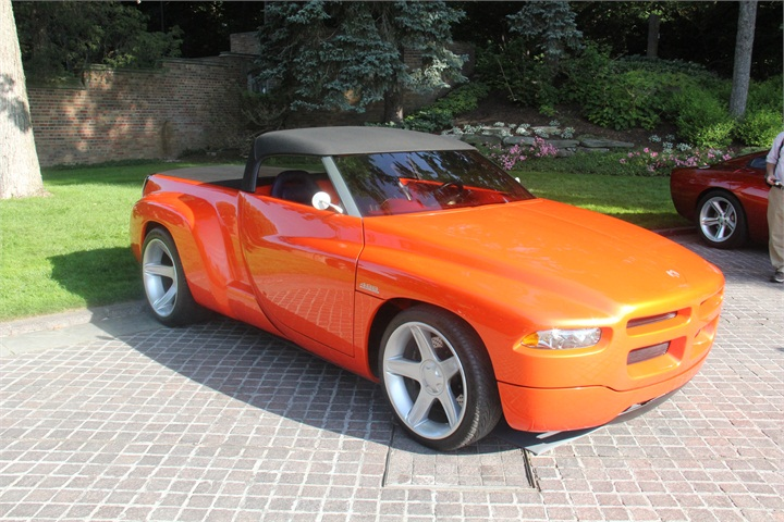 Go Green Leasing >> The 1997 Dodge Sidewinder Concept roadster pickup was ...