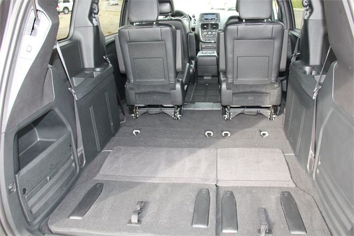 The Van Provides 143 8 Square Feet With The Third Row