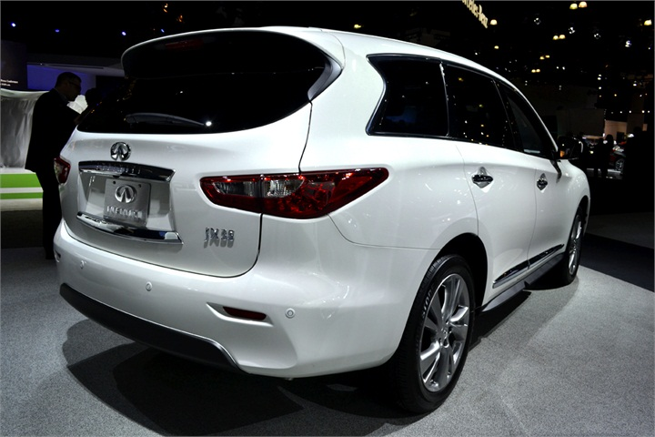 the infiniti jx is seven passenger luxury suv that comes with a 3 5l 2012 l a auto show. Black Bedroom Furniture Sets. Home Design Ideas