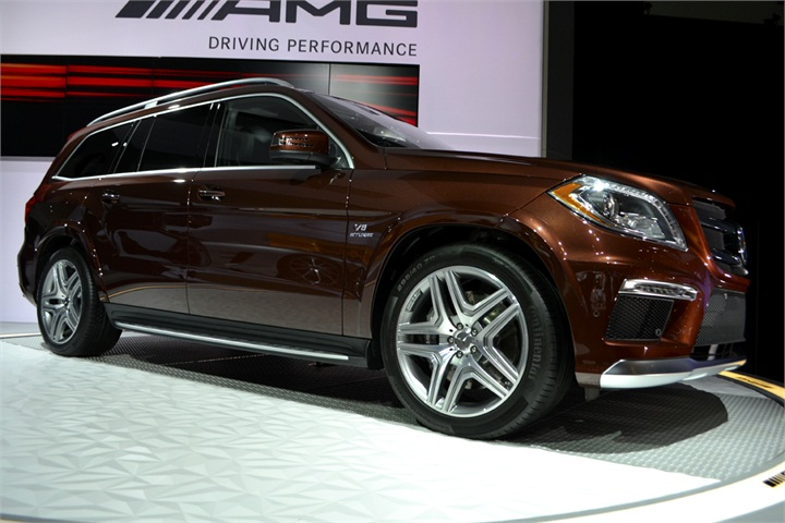 Mercedes showed its high end amg models at the auto show for Mercedes benz high end suv
