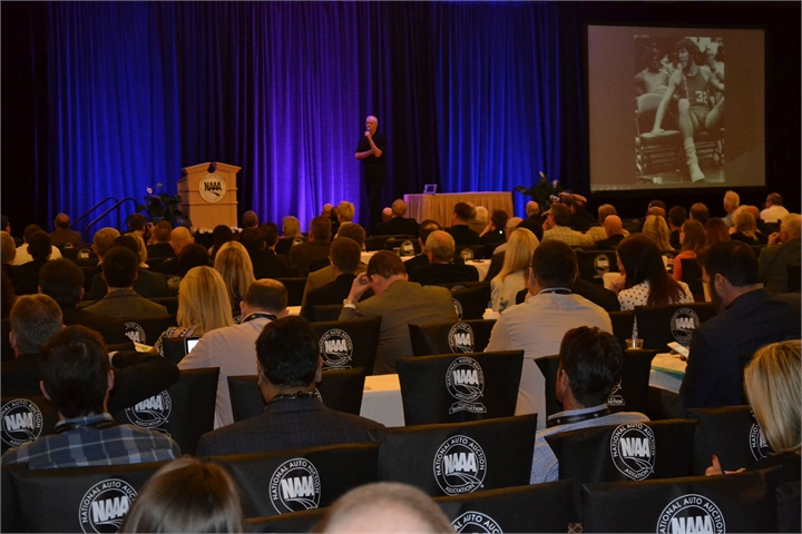 Basketball legend Bill Walton delivered the opening keynote address at