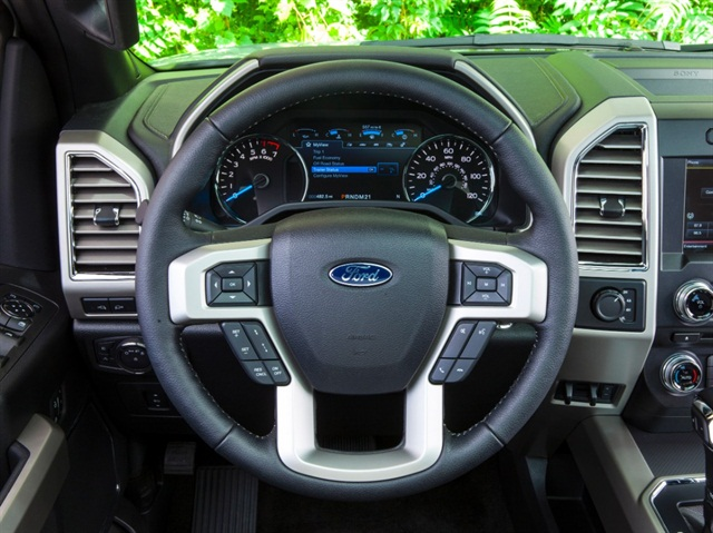10 Driver Friendly Features of the 2015 F-150