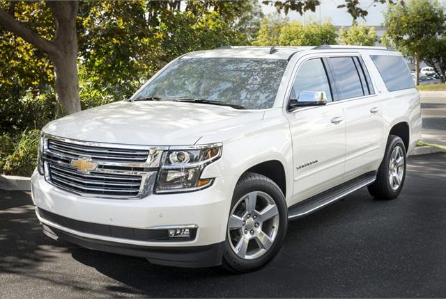 GM's 2015 Chevrolet Suburban