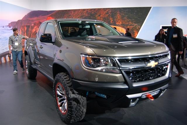 2015 L.A. Auto Show: Pickup Trucks
