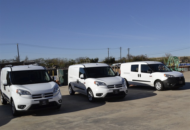 Ram ProMaster City Ride and Drive