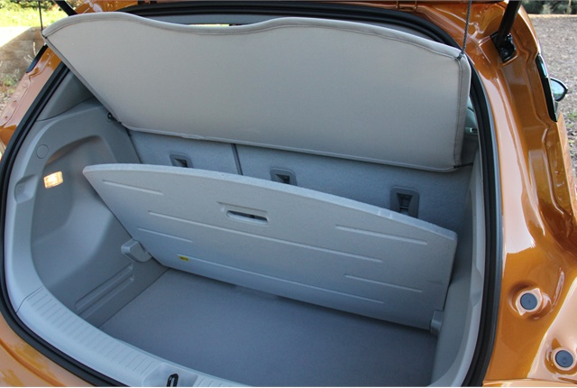 Go Green Leasing >> The 17 cubic feet of cargo space is supplemented by a hidden - Chevrolet's 2017 Bolt EV - Photo ...