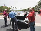C-HR XLE with Toyota s Bill Burris (in red Polo shirt)