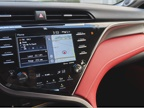 Toyota s quirky Entune infotainment system is displayed on a 7-inch