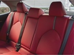 Rear seating provides the same material.