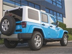 The Wrangler can tow up to 3,500 pounds. A base Sahara retails for at